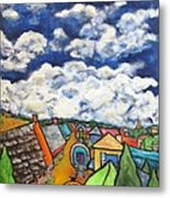 Gypsy Pilgramage Provence Metal Print by Chaline Ouellet