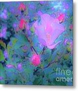 Gypsy Rose - Flora - Garden Metal Print