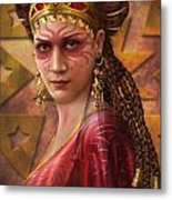 Gypsy Woman Metal Print