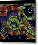 H Abs Lizzy Tail Wd2 Metal Print