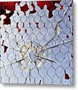 H O M I C I D E Metal Print by Charles Dobbs