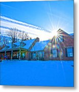 Haas Winter Shoot Dec 11 13 Metal Print