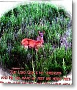 Habakkuk 3 19 Metal Print