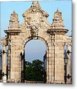 Habsburg Gate In Budapest Metal Print