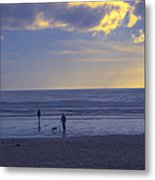Haceta Head Beach 2 Metal Print