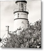 Haceta Head Lighthouse 2 Metal Print