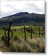 Hacienda El Porvenir Ranch View Metal Print