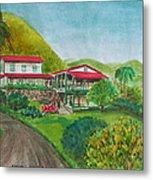 Hacienda Gripinas Old Coffee Plantation Metal Print