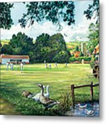 Hadlow Cricket Club Metal Print