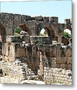 Hadrian's Baths Metal Print