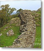 Hadrian's Wall Near Walltown Quarry Metal Print