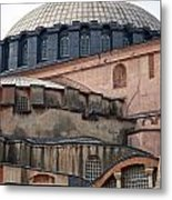 Hagia Sofia Close Up Metal Print