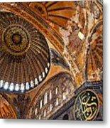 Hagia Sofia Interior 01 Metal Print