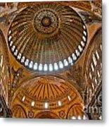 Hagia Sofia Interior 02 Metal Print