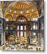 Hagia Sofia Interior 35 Metal Print