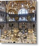 Hagia Sofia Interior 42 Metal Print