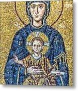 Hagia Sofia Mosaic 05 Metal Print