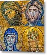 Hagia Sofia Mosaics Metal Print