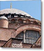 Hagia Sophia Curves 01 Metal Print