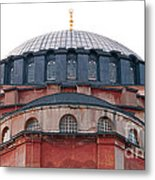 Hagia Sophia Curves 02 Metal Print