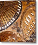 Hagia Sophia Dome 01 Metal Print