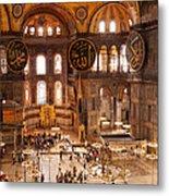 Hagia Sophia Interior 04 Metal Print