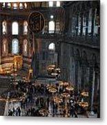 Hagia Sophia Panorama Metal Print