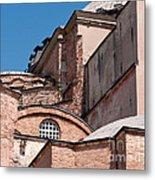 Hagia Sophia Walls 01 Metal Print