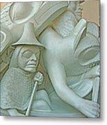 Haida Sculpture Closeup In Canadian Museum Of Civilization In Gatineau-quebec-canada Metal Print