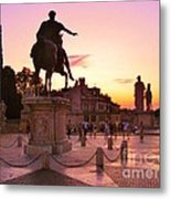 Hail To All The Little Tourists Metal Print
