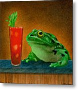 Hair Of The Frog... Metal Print
