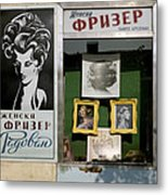 Hairdresser. Belgrade. Serbia Metal Print