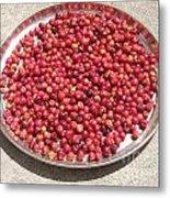 Haitian Cherries Metal Print