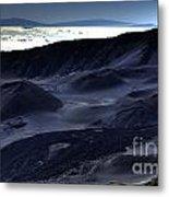 Haleakala Crater Hawaii Metal Print