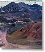 Haleakala Summit Crater Metal Print