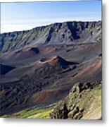 Haleakala Sunrise On The Summit Maui Hawaii - Kalahaku Overlook Metal Print by Sharon Mau