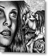 Haleys Apparition Metal Print