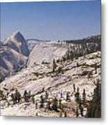 Half Dome And The High Sierra Metal Print