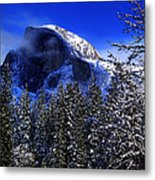 Half Dome Clearing Metal Print