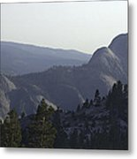 Half Dome From Olmsted Pt Metal Print