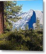 Half  Dome From Sentinel Dome Trail In Yosemite Np-ca Metal Print