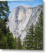 Half Dome In Spring In Yosemite Np-2013 Metal Print