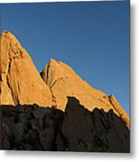 Half Moon At Garden Of The Gods Metal Print