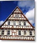 Half-timbered House 03 Metal Print