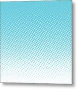 Halftone Background, Pop Art Design Metal Print