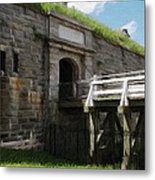Halifax Citadel Metal Print