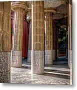 Hall Of 100 Columns Metal Print