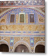 Hall Of Ambassadors In The Royal Alcazar Of Seville Metal Print