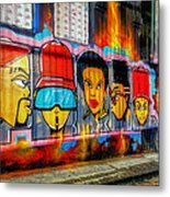 Hall Of Fame At Hosier Lane	 Metal Print