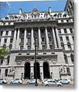 Hall Of Records - Surrogate's Courthouse Metal Print